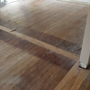Client wanted a finish on their oak floor that was less maintenance than the oil finish they had. So we sanded it back and applied one coat of Bona Drifast Stain (natural) to bring out the rich colour of the Oak and then applied 3 coats of Bona Traffic HD Extramatt waterborne polyurethane.